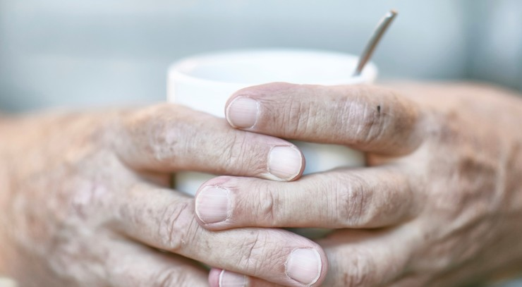 Diakoni kaffe hænder